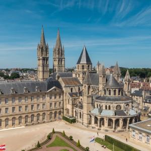 The Men Abbey, Caen