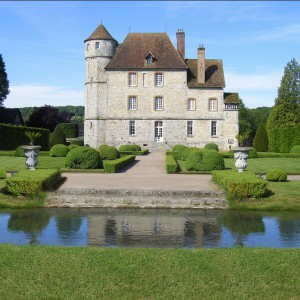 Vascoeuil château and gardens