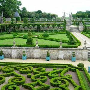 Château de Brécy gardens