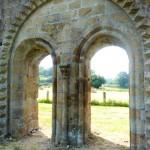 Abbaye de Savigny le vieux cloitre