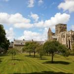Abbaye de Hambye (50) jardins