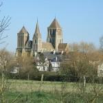 Abbaye St Pierre sur Dives jardin