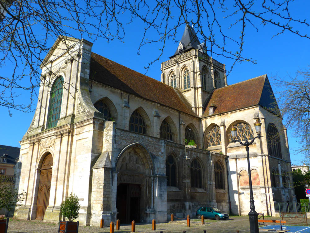Saint-Taurin Abbey, Evreux