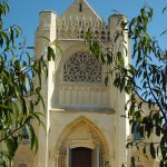Ardenne abbaye, saint germain la blanche herbe façade