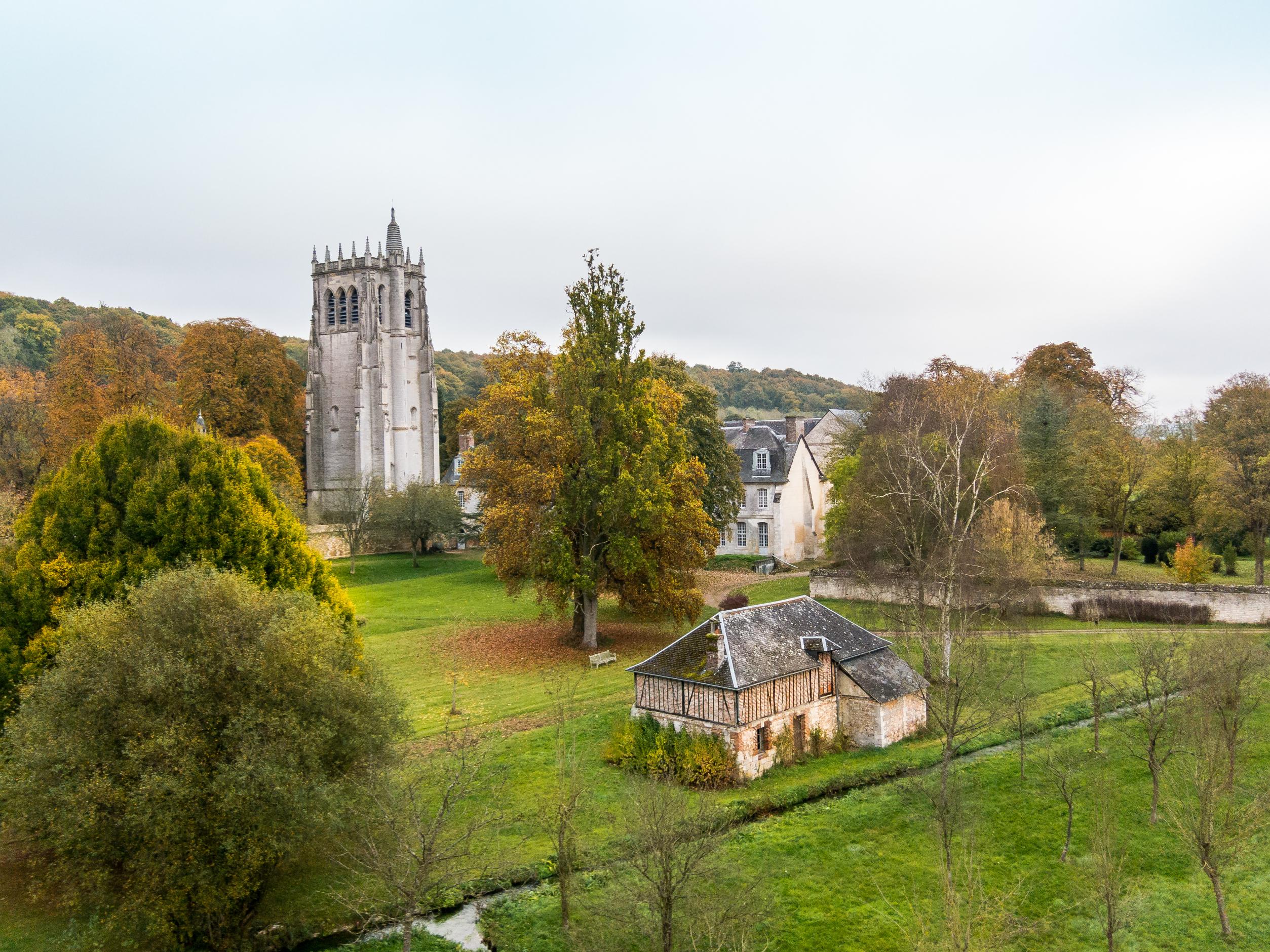 Notre-Dame Abbey, Le Bec-Hellouin