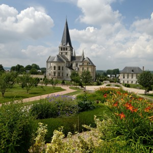 Gardens of the Abbey of Saint-Georges-de-Boscherville