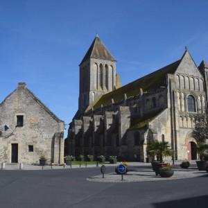 Abbey church Saint Samson, Ouistreham riva bella