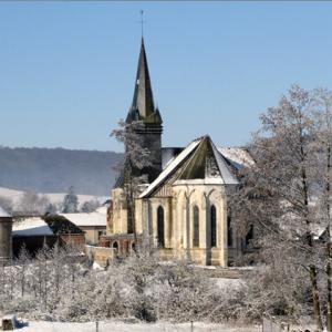 Saint-Martin's abbey Church, Sigy-en-Bray
