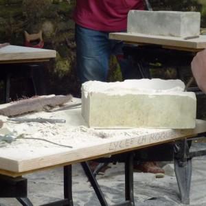 Atelier de taille de pierre et sculpture