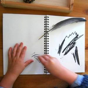 Les Vacances au musée :  Ateliers 3‐6 ans, dessinaudoigtetaufusain.