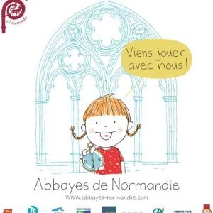 Sacoches ''Visites des abbayes de Normandie en Famille !''